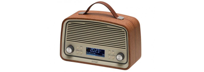 Nostalgisk DAB + radio