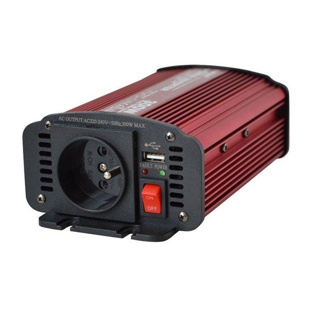 Power inverter 12V/230V 300W