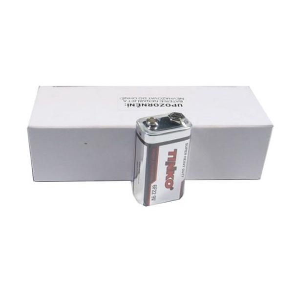 Batteri 6F22 (9V) Zn-Cl TINKO