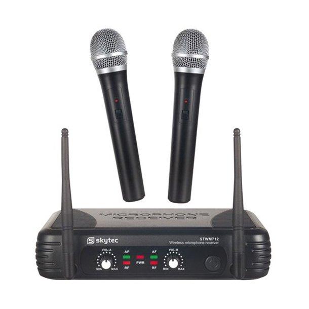 Trådløse mikrofoner dual pack