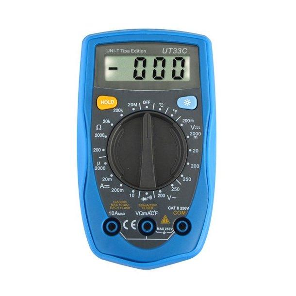 Мультиметр UNI-T TIPA Edition UT33C