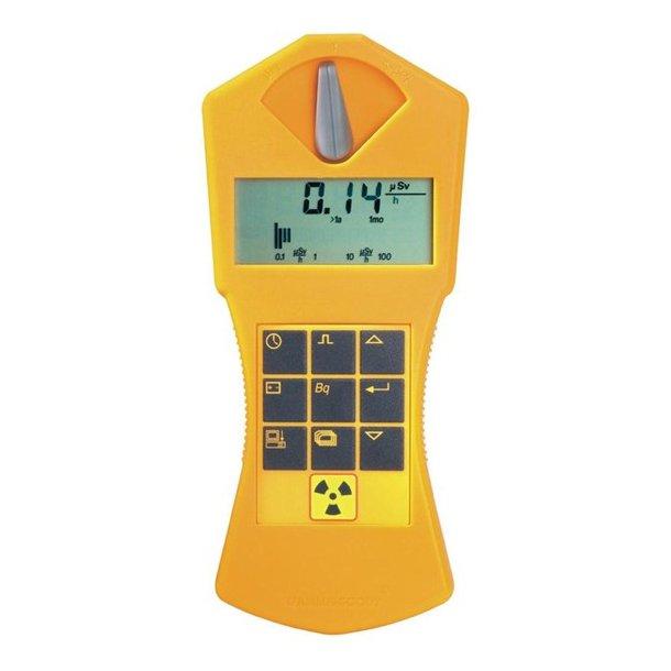 GAMMA-SCOUT® Standard Geiger meter, radioaktivitetsmåler
