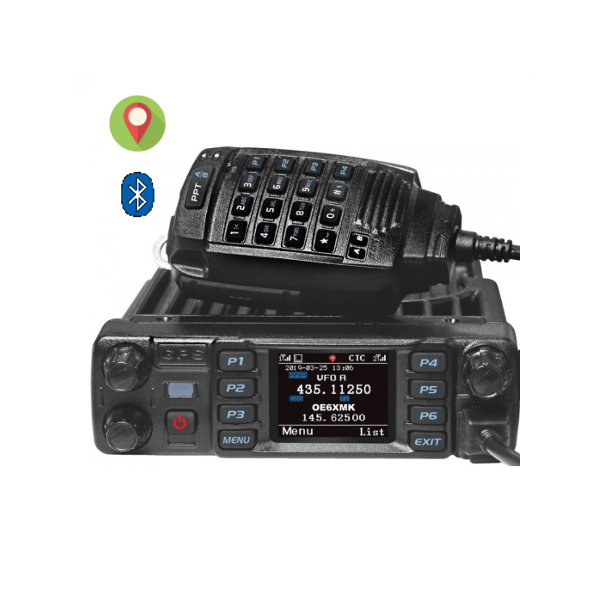 ANYTONE D578UV VHF/UHF DUAL BAND DMR MOBILE RADIO WITH BLUETOOTH & GPS