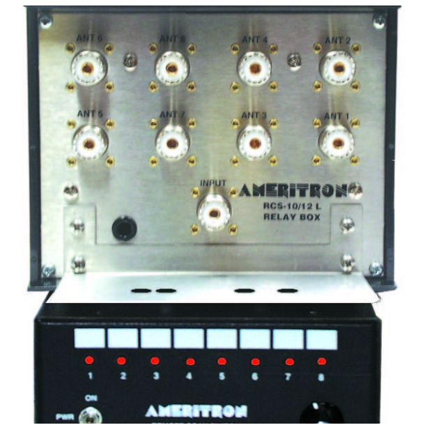 Ameritron RCS-10 ANTENNA SWITCH,8 POSITIONS, REMOTE
