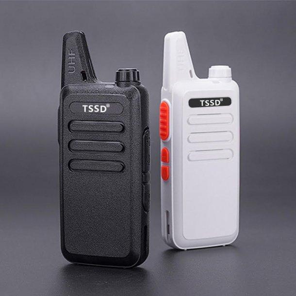 TSSD 380 0,5watt lisensfri proff radio sort farge