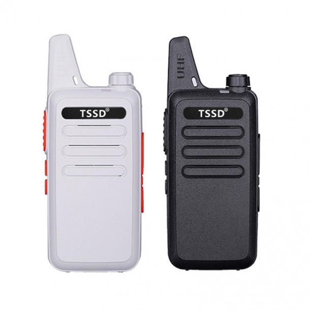 TSSD 380 0,5watt lisensfri proff radio hvit farge