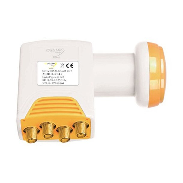 LNB Golden Media GI204+ 0.1dB quad