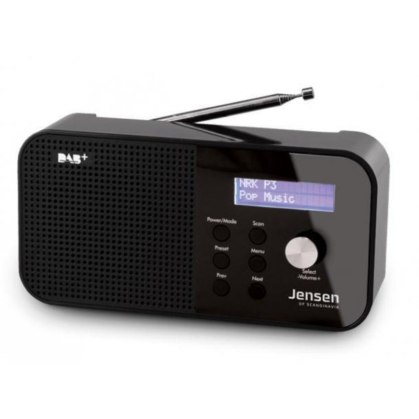 Jensen Scandinavia FOX 100 DAB+ radio