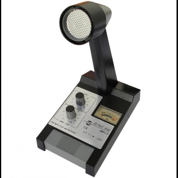 Zetagi MB + 5 med plugg for CRT 10m Radios