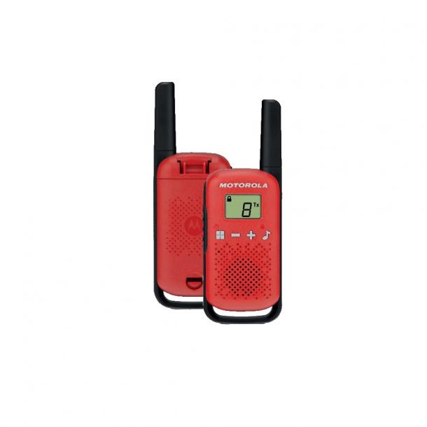 Motorola Talkabout T42 twin-pack rød
