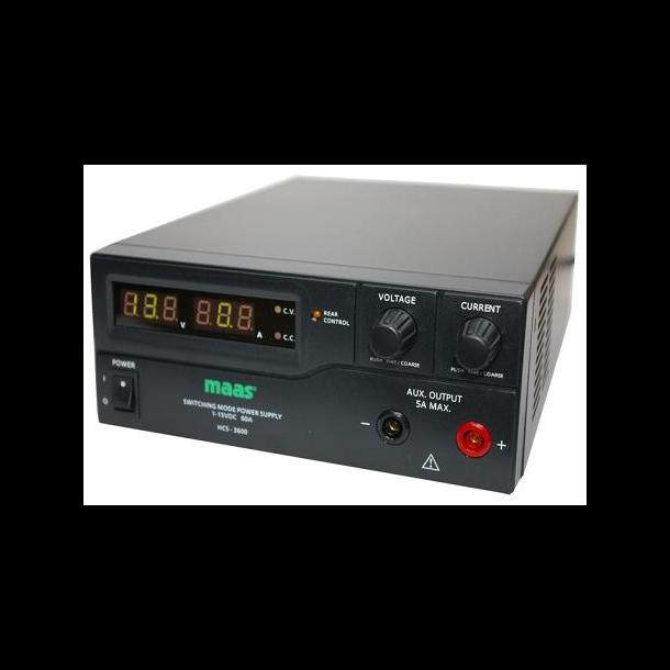 MAAS HCS-3600 60 ampere Powersupply