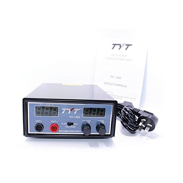 TYT TH-1380 Switching Mode DC Regulated Power Supply