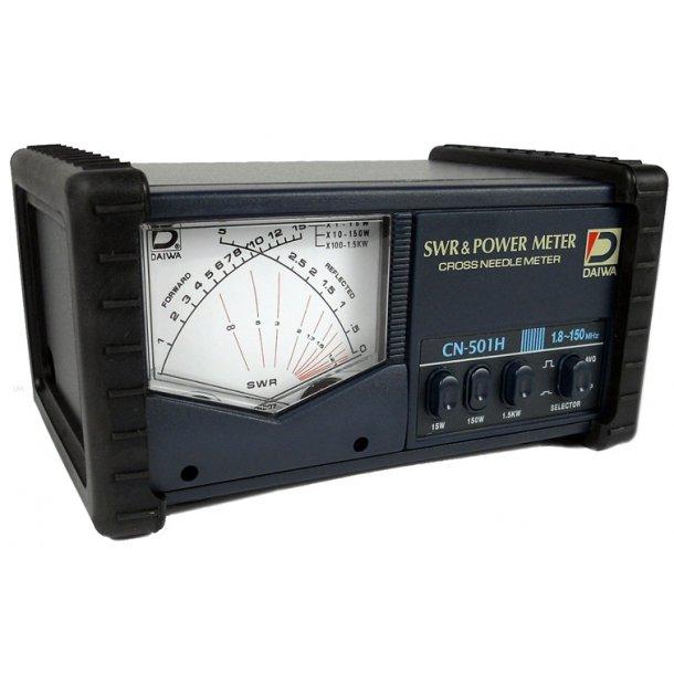 Daiwa CN-501H 15/150/1500 Watts HF + VHF