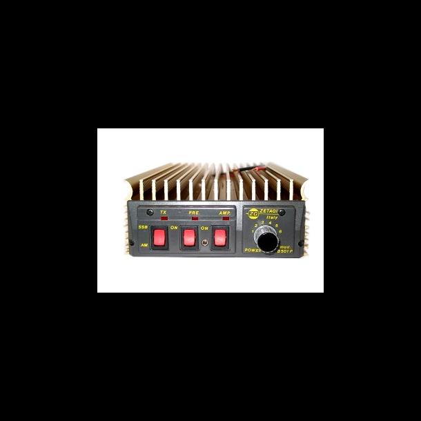 Zetagi B501P 250 Watt AM/FM - 500 Watt SSB/CW (24 Volt) Lastebil 24volt