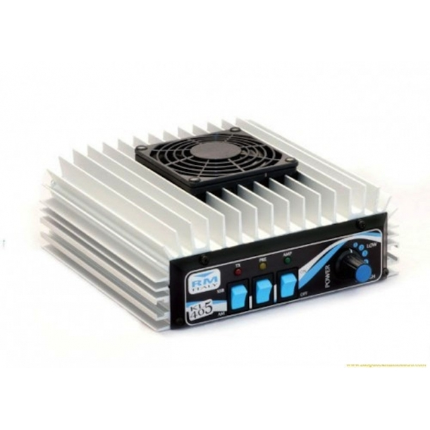 RM Italy KL 405v HF Linear Amplifier with Cooling Fan