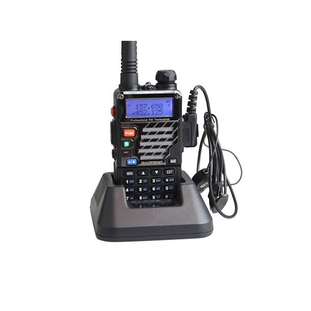 Baofeng Two-Way Radio UV-5RE + versjon VHF / UHF sort farge