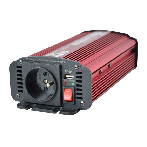 Power inverter 12V/230V 600W