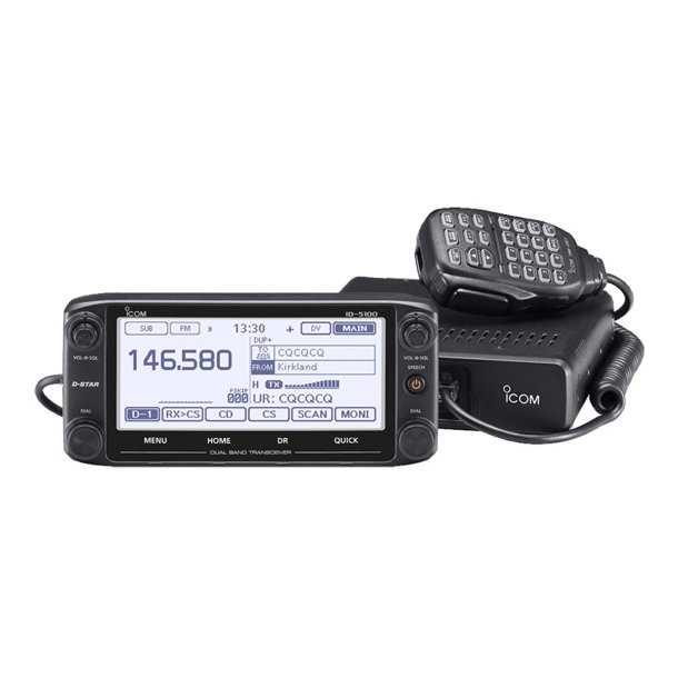 ID-5100 VHF/UHF Dual Band D-STAR Transceiver
