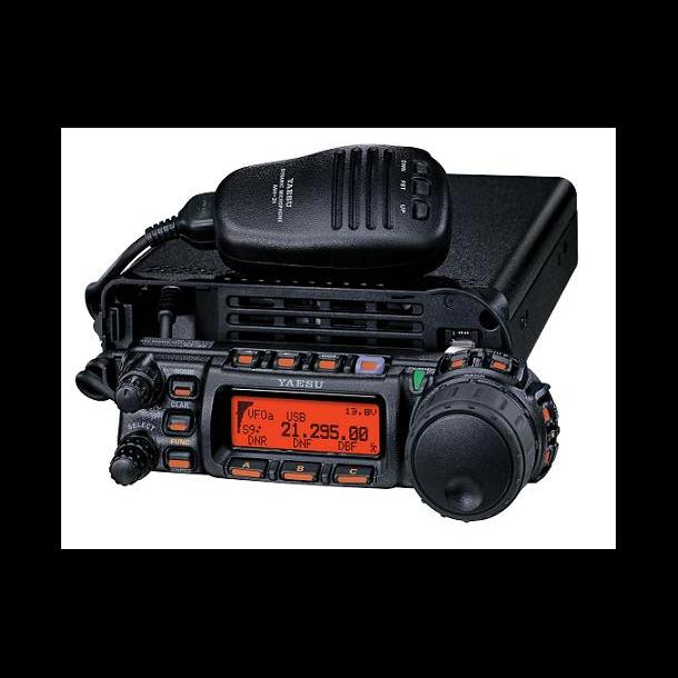 YAESU FT-857D 100watt med åpen 60m og remote kit inkludert!