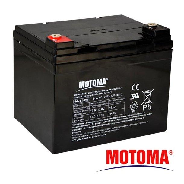 Sealed lead acid battery 12V 33Ah MOTOMA