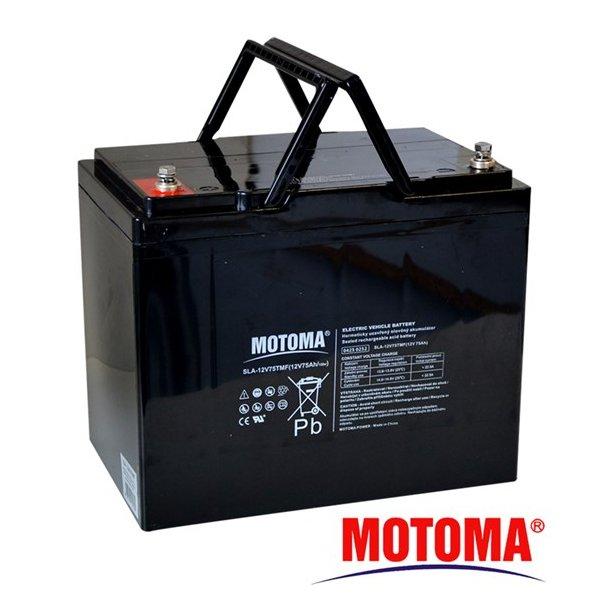 Sealed lead acid battery 12V 75Ah MOTOMA