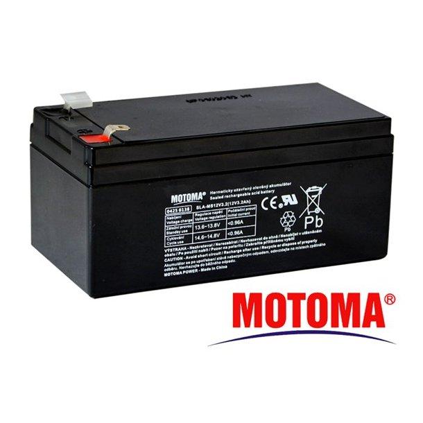 Sealed lead acid battery 12V 3,2Ah MOTOMA