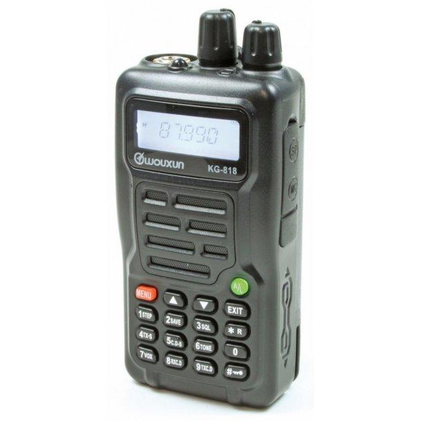WOUXUN KG-818 4M 66-88Mhz med progkit