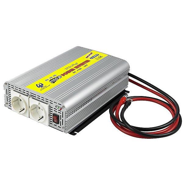 Power inverter 12V/230V 1000W