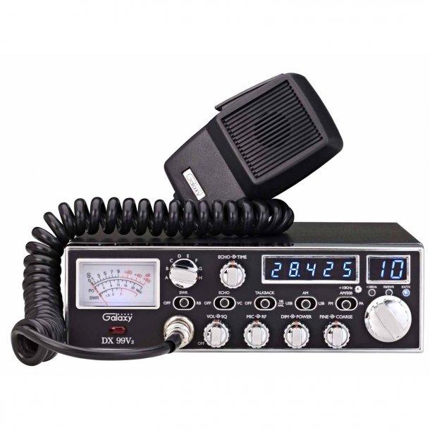 Galaxy DX-99V2 10 Meter Amatør Radio AM FM SSB LSB USB Mosfet Finals