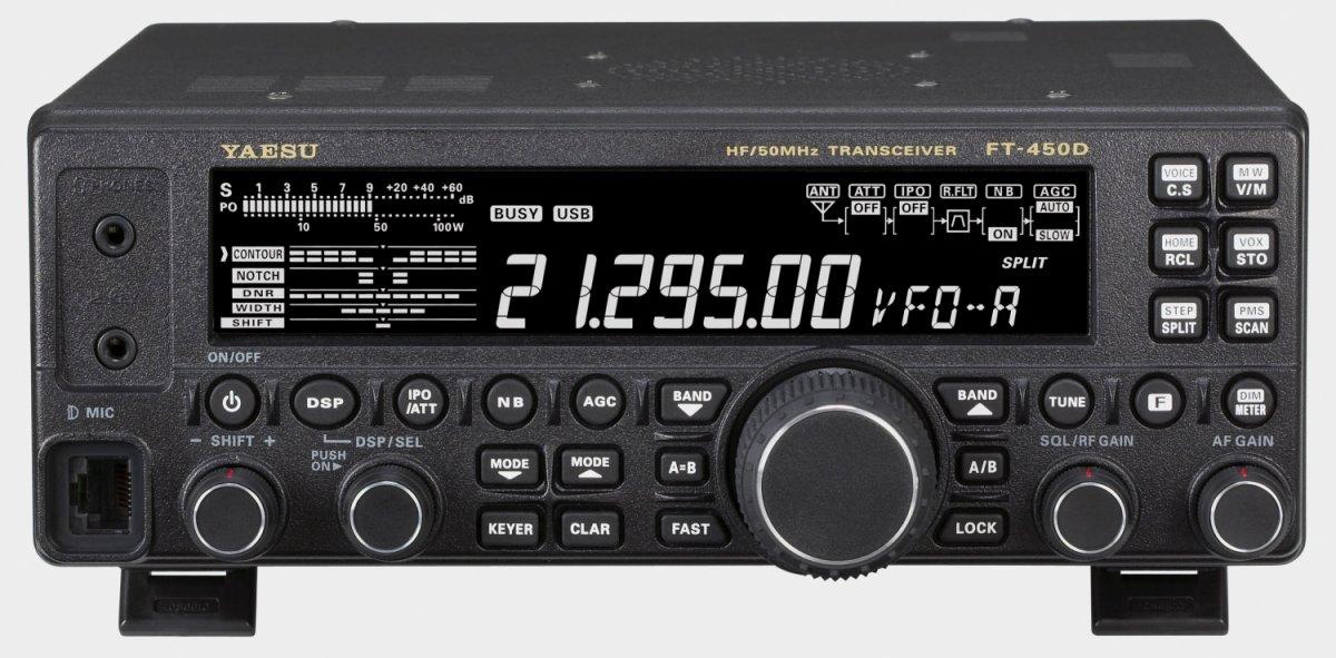FTDX 101DMP 200W HF +50MHz SDR Amatørradio Yaesu HF radio