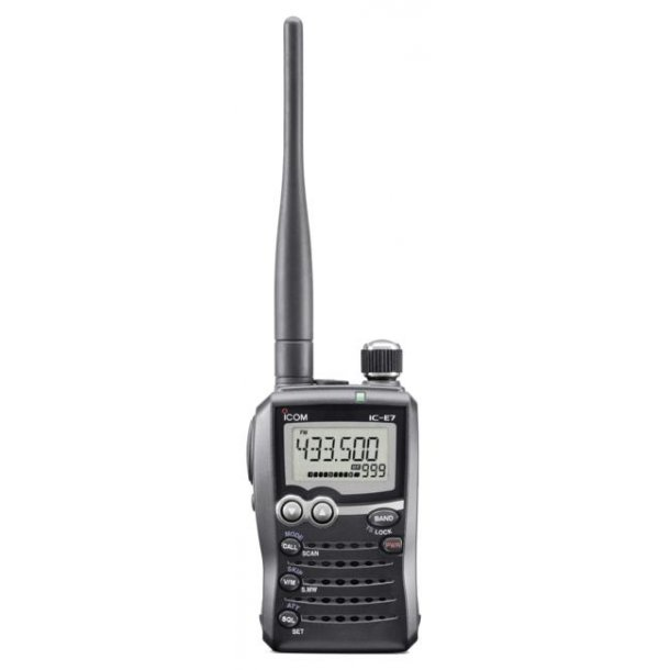 ICOM IC-E7 Handheld VHF/UHF Transceiver
