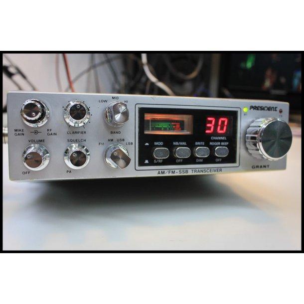 President Grant AM/FM/USB/LSB SSB CB Radio VINTAGE
