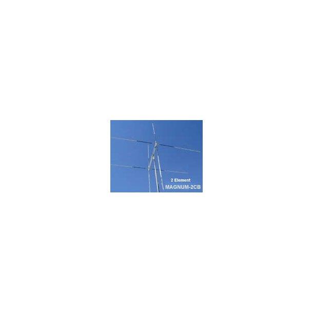 MAGNUM-2CB 11 Meter 2 Element Quad (Gain 9+ dBi @ 40 ft)