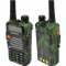 Baofeng Two-Way Radio UV-5RE + versjonen VHF / UHF kamuflasje farge