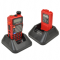 Baofeng Two-Way Radio UV-5RE + version VHF / UHF red color