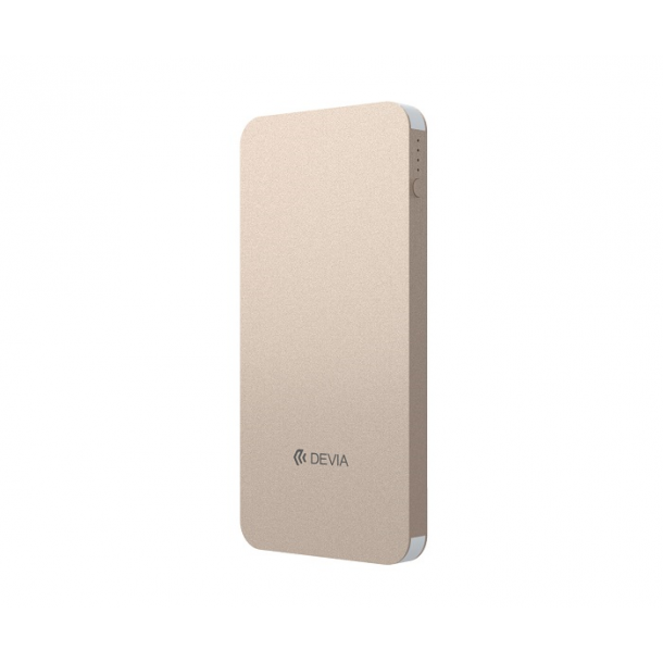 Power Bank DEVIA Thunder champagne gold 10000mah