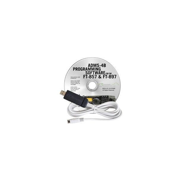 RT Systems Original ADMS-FT-857 USB Programming Software