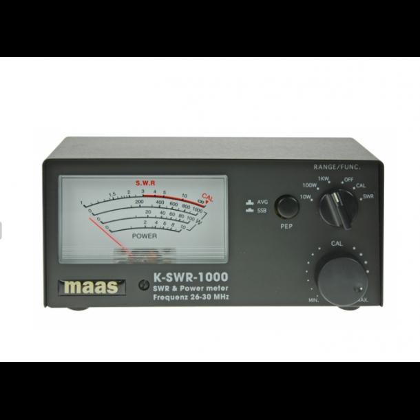 MAAS K-SWR 1000 / KPO KP-27 SWR- & Power-Meter