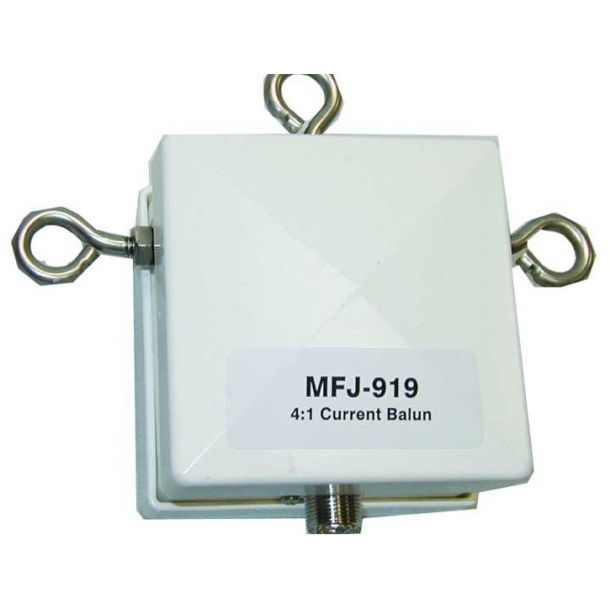 MFJ-919 BALUN, CURRENT, 4:1, 160-10M, LEGAL PWR
