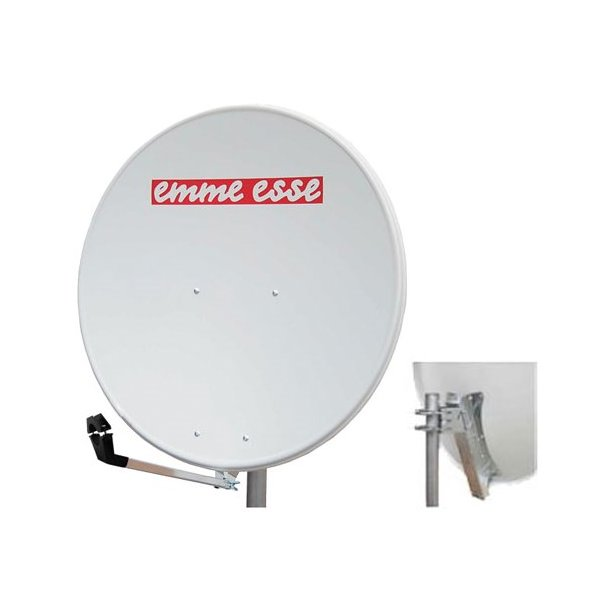 Satellite dish 100AL Emme Esse white