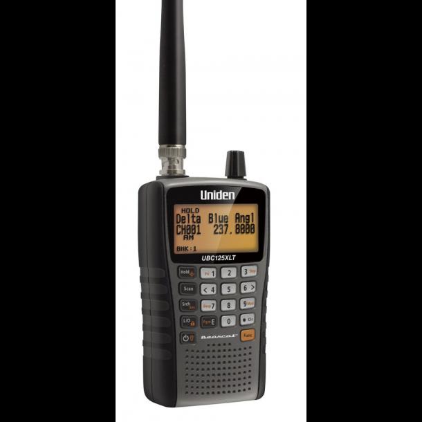 BEARCAT UBC 125 XLT 500 Channels, 10 Bands, 2 Selectable Bandplans, 25 - 88MHz / 108 - 174MHz / 225