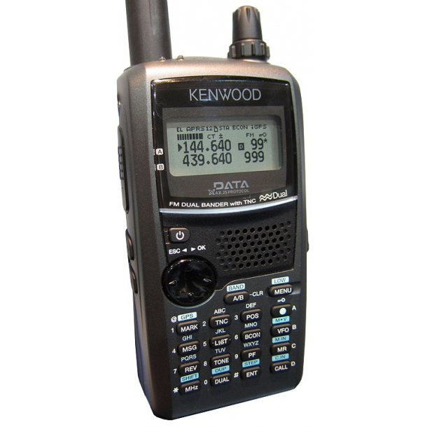 KENWOOD TH-D72E FM Dual Band with GPS built-in GPS