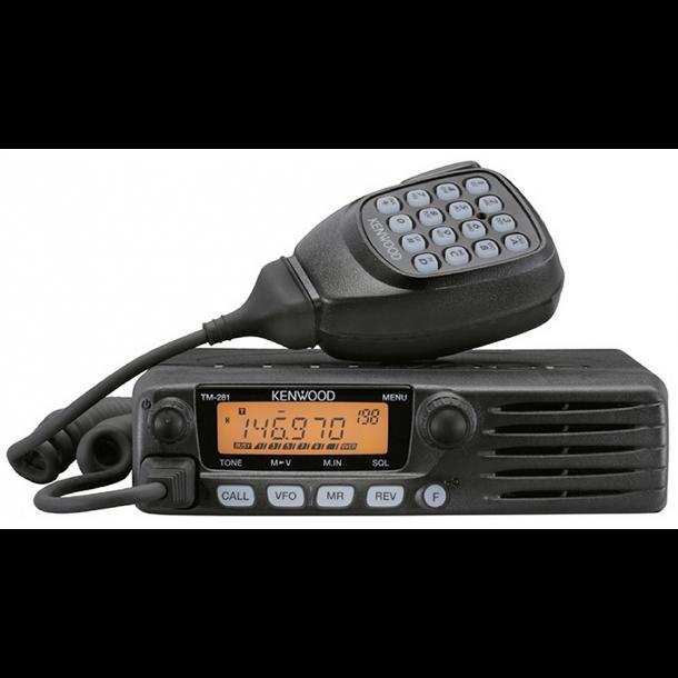 Kenwood TM-281E VHF/UHF 100 memorys , 65watt