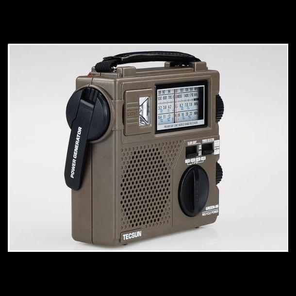 Tecsun Green 88 HF overlevelsesradio