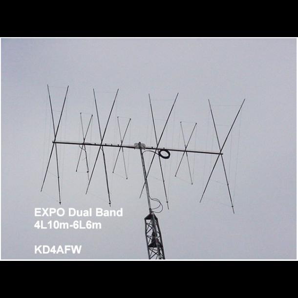 Cubex Expo- 6N10 10m og 6m antenne