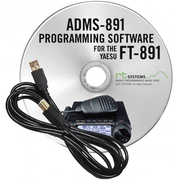 RT Systems Original ADMS-Yaesu fT-891 USB Programming Software