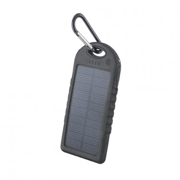 Setty solar power bank 5000 mAh black